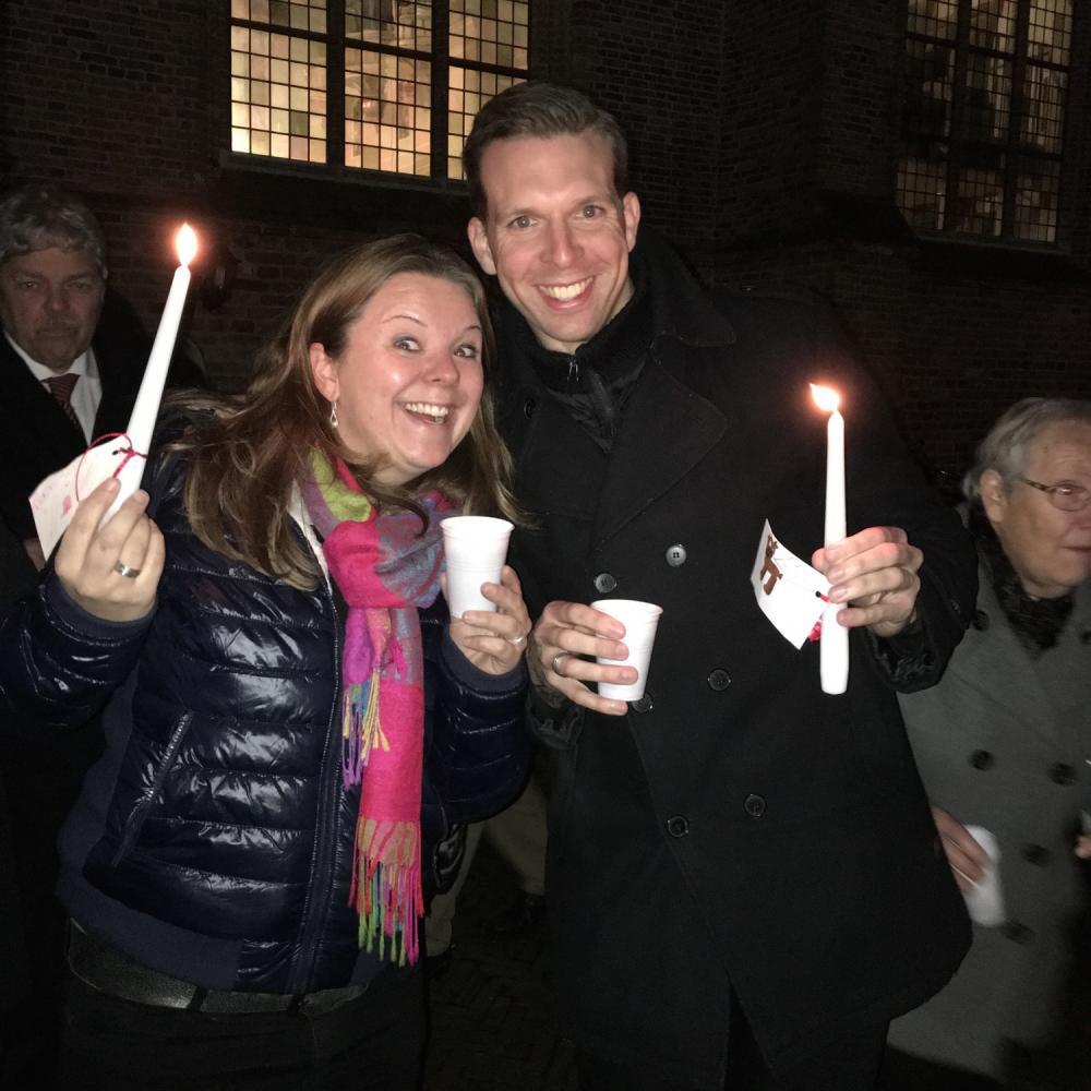 Kerstconcert met gospelkoor Elim in Bergambacht met pianiste Elles van der Willik