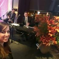 Spelen tijdens een bruiloft in Zwolle met Eveline Cocu en Jaap Rovers